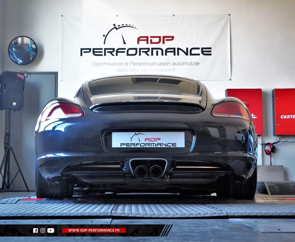 Reprogrammation moteur - Porsche Cayman (987) R 3.4 DFI 330cv - ADP Performance