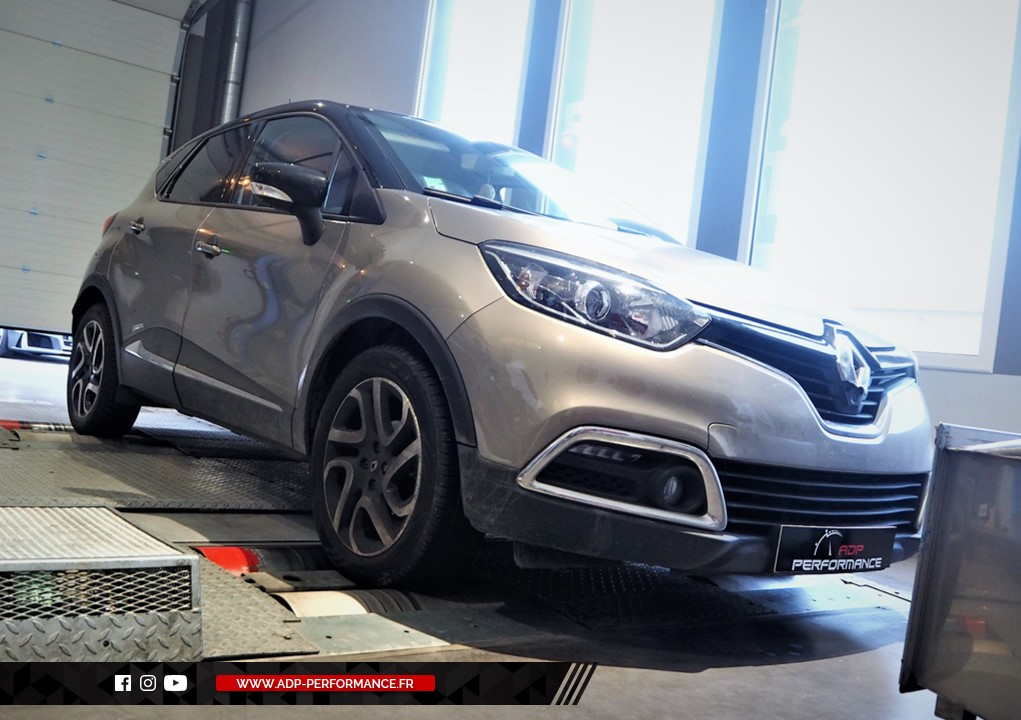 Reprogrammation moteur - RENAULT Captur 1.5 DCI 110cv - ADP Performance