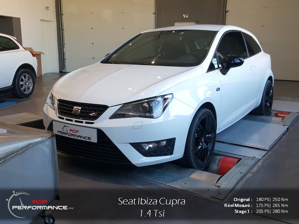 seat ibiza 6j 2008 2015 essence 1 4 tsi cupra 180 cv reprogrammation de votre vehicule. Black Bedroom Furniture Sets. Home Design Ideas