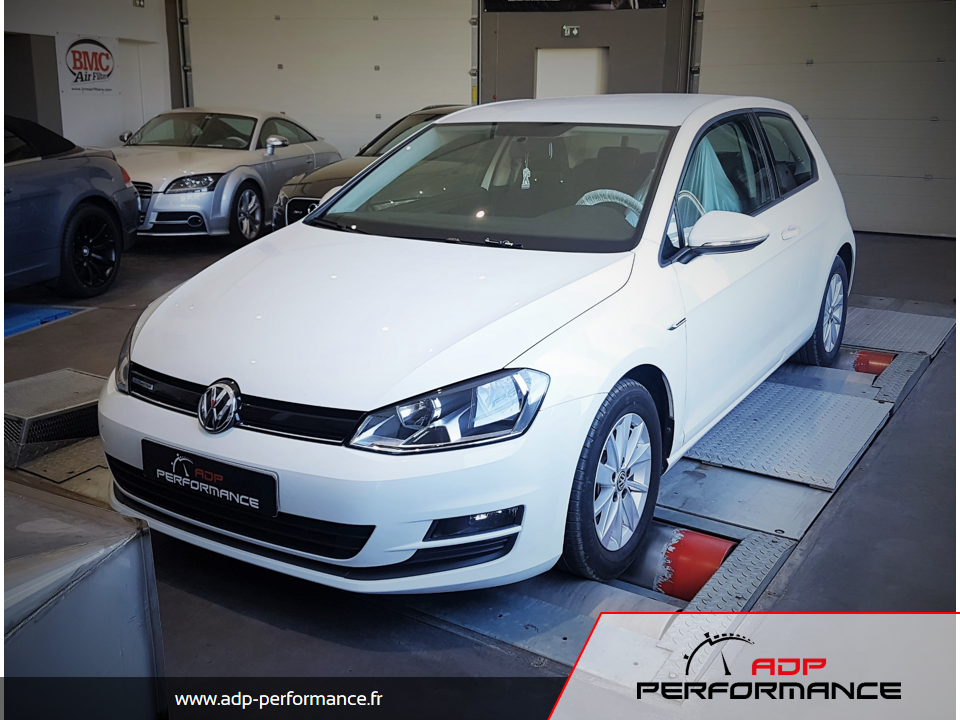 Reprogrammation moteur Golf VII 1.4 TSI 122 ADP Performance
