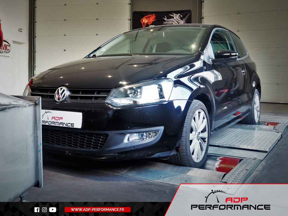 Reprogrammation moteur - VW Polo 1.2 TSI - 90 cv - ADP Performance