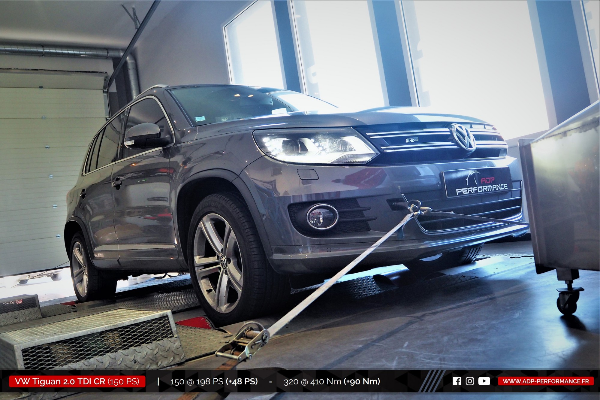 volkswagen tiguan 2016 diesel 2 0 tdi cr 150 cv reprogrammation de votre vehicule. Black Bedroom Furniture Sets. Home Design Ideas