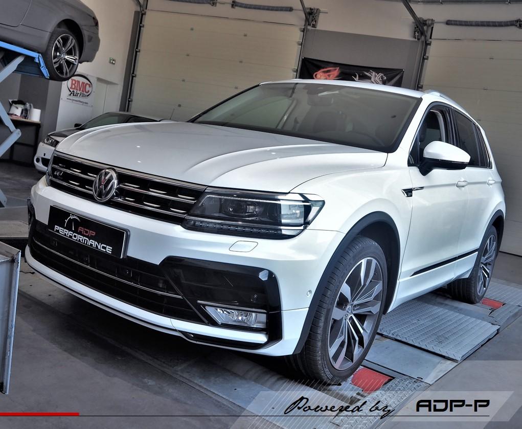Reprogrammation moteur - VW Tiguan 2.0 TDI CR 115cv - ADP Performance