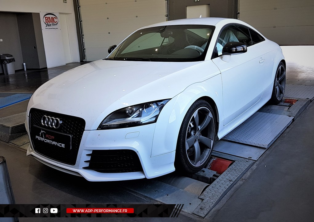 Reprogrammation moteur - Audi TT RS 2.5 TFSI 400cv   - ADP Performance