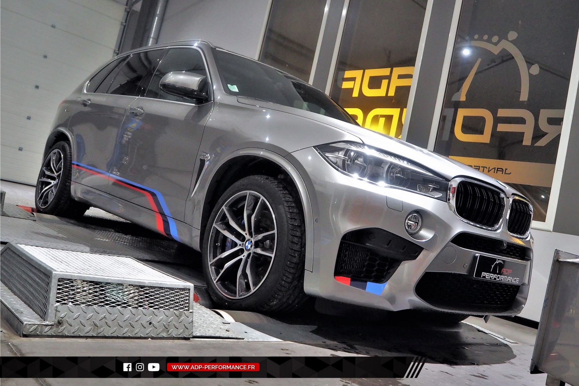 Reprogrammation moteur - BMW X5 M (F85) 4.4 V8 Bi-Turbo 575cv - ADP Performance