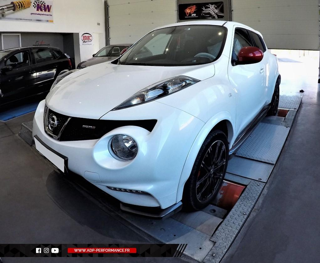 Reprogrammation moteur - Nissan Juke 1.6 117cv - ADP Performance