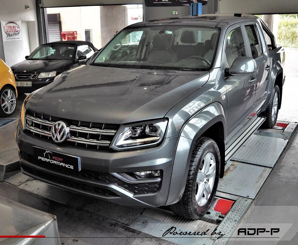 Reprogrammation moteur - Volkswagen Amarok 3.0 V6 TDI 224cv - ADP Performance