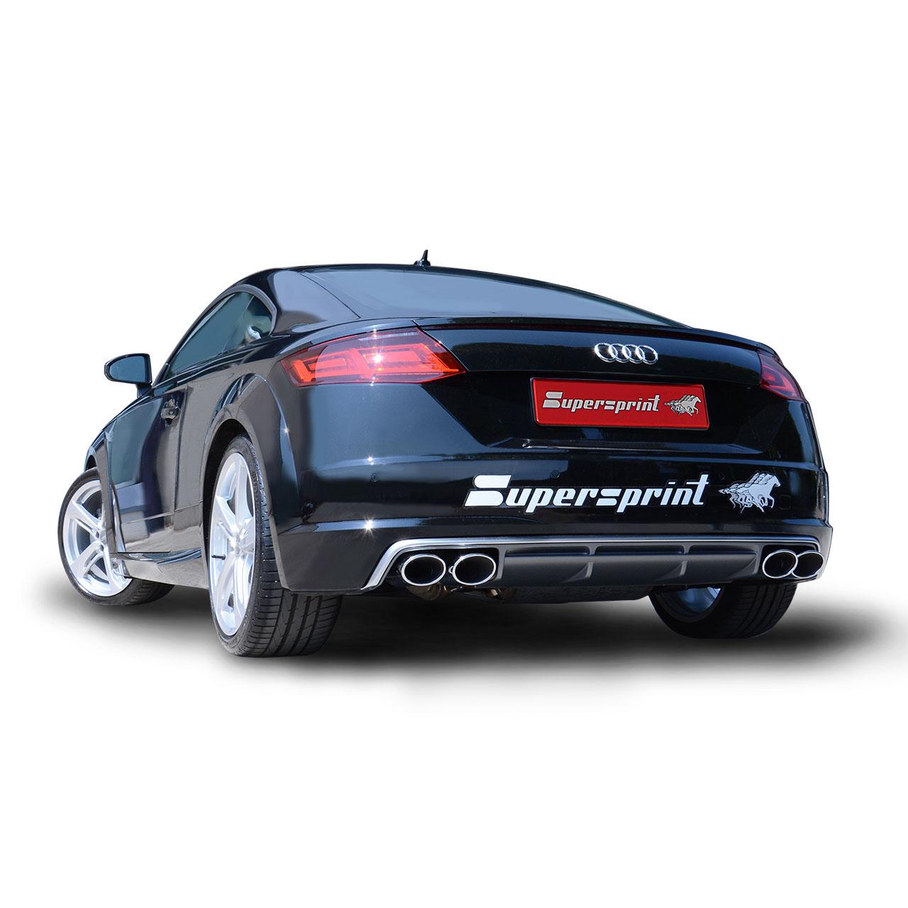 Ligne SuperSprint Audi TT