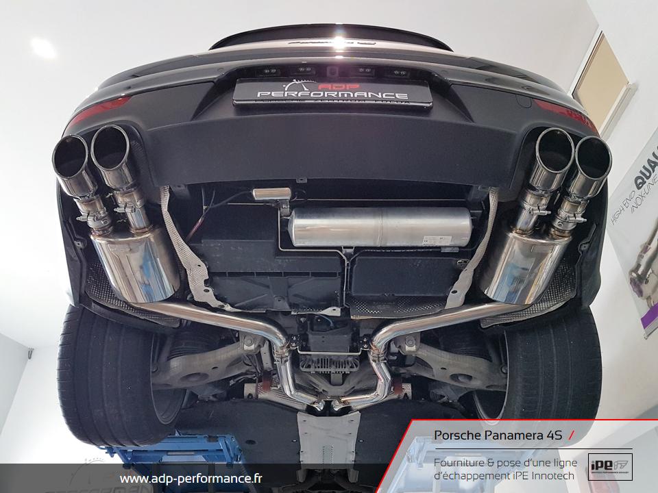 Ligne d'échappement iPE Innotech Porsche Panamera 4S Marseille