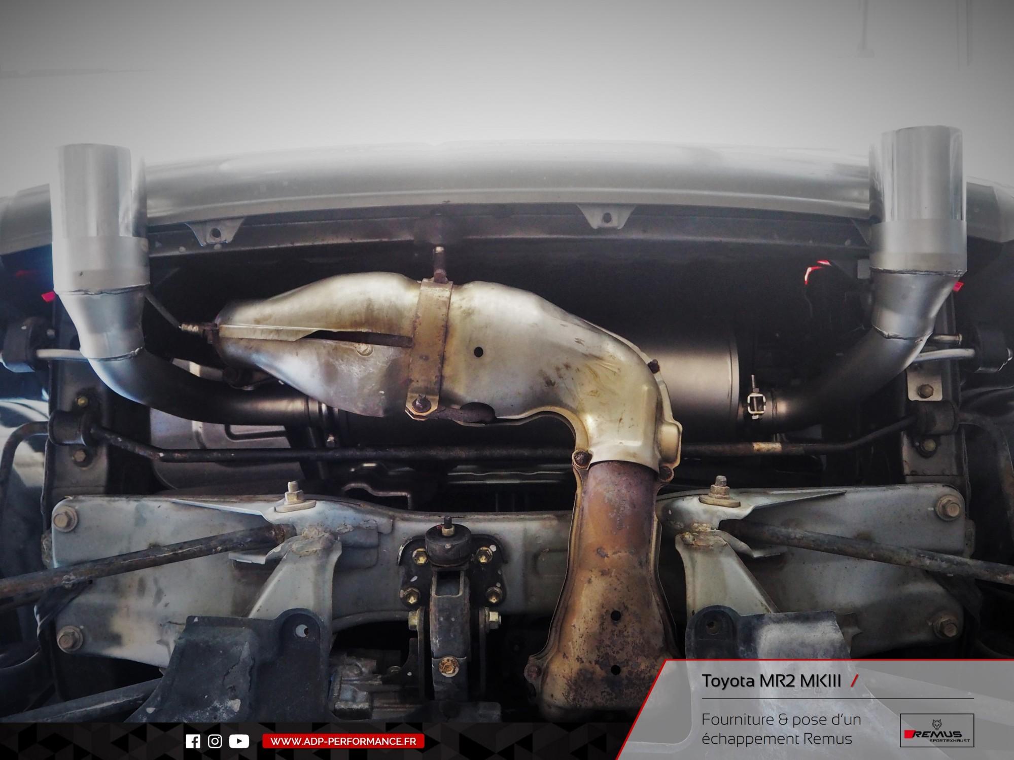 Ligne d'échappement Remus Marseille - Toyota MR2 MK3 - ADP Performance