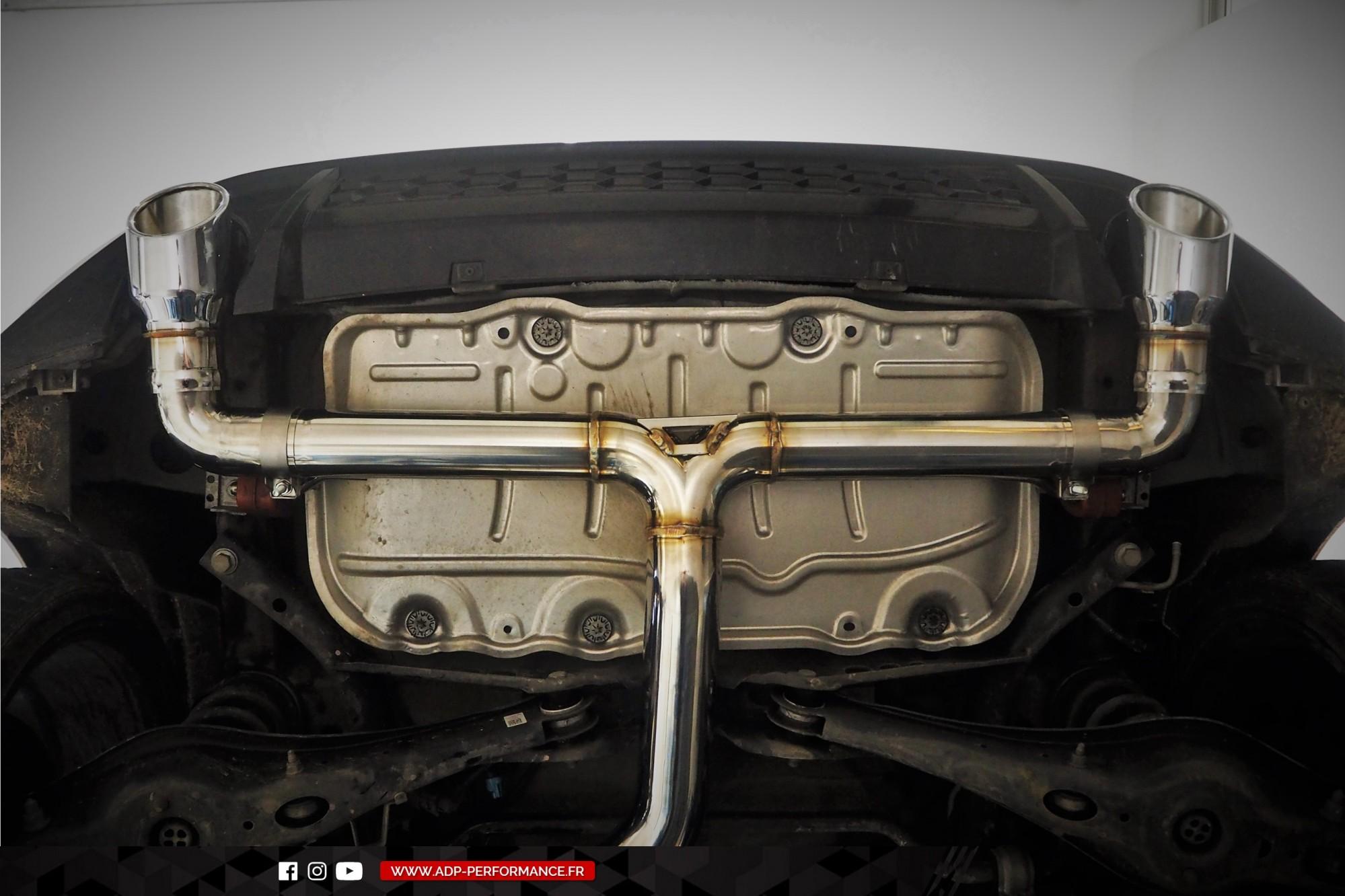 Ligne d'échappement iPE Innotech Istres- VW Golf 7 GTI Performance 2.0 TSI 230cv - ADP Performance