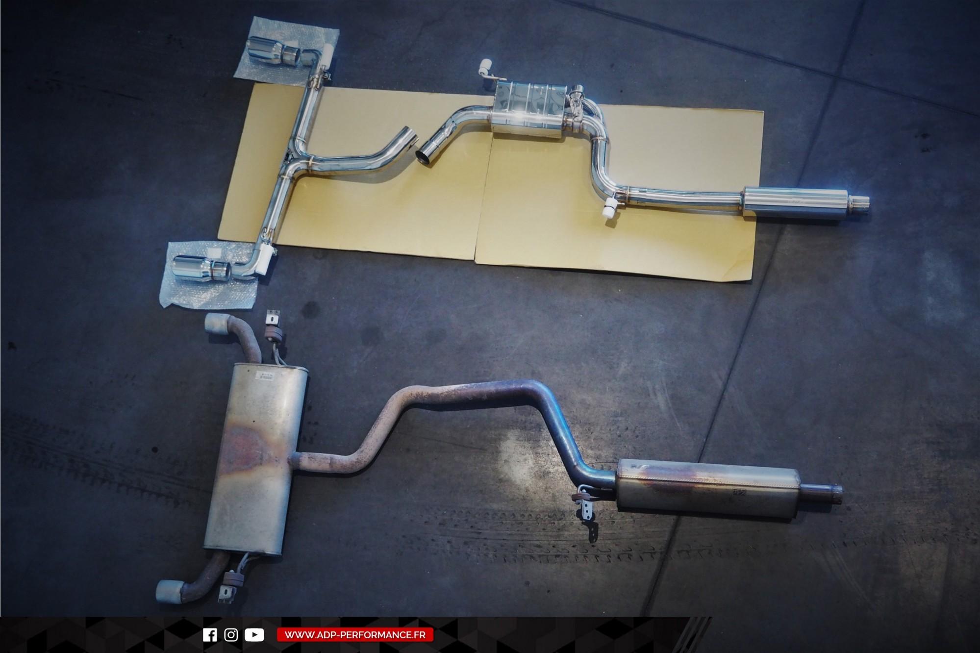 Ligne d'échappement iPE Innotech St Martin de Crau - VW Golf 7 GTI Performance 2.0 TSI 230cv - ADP Performance