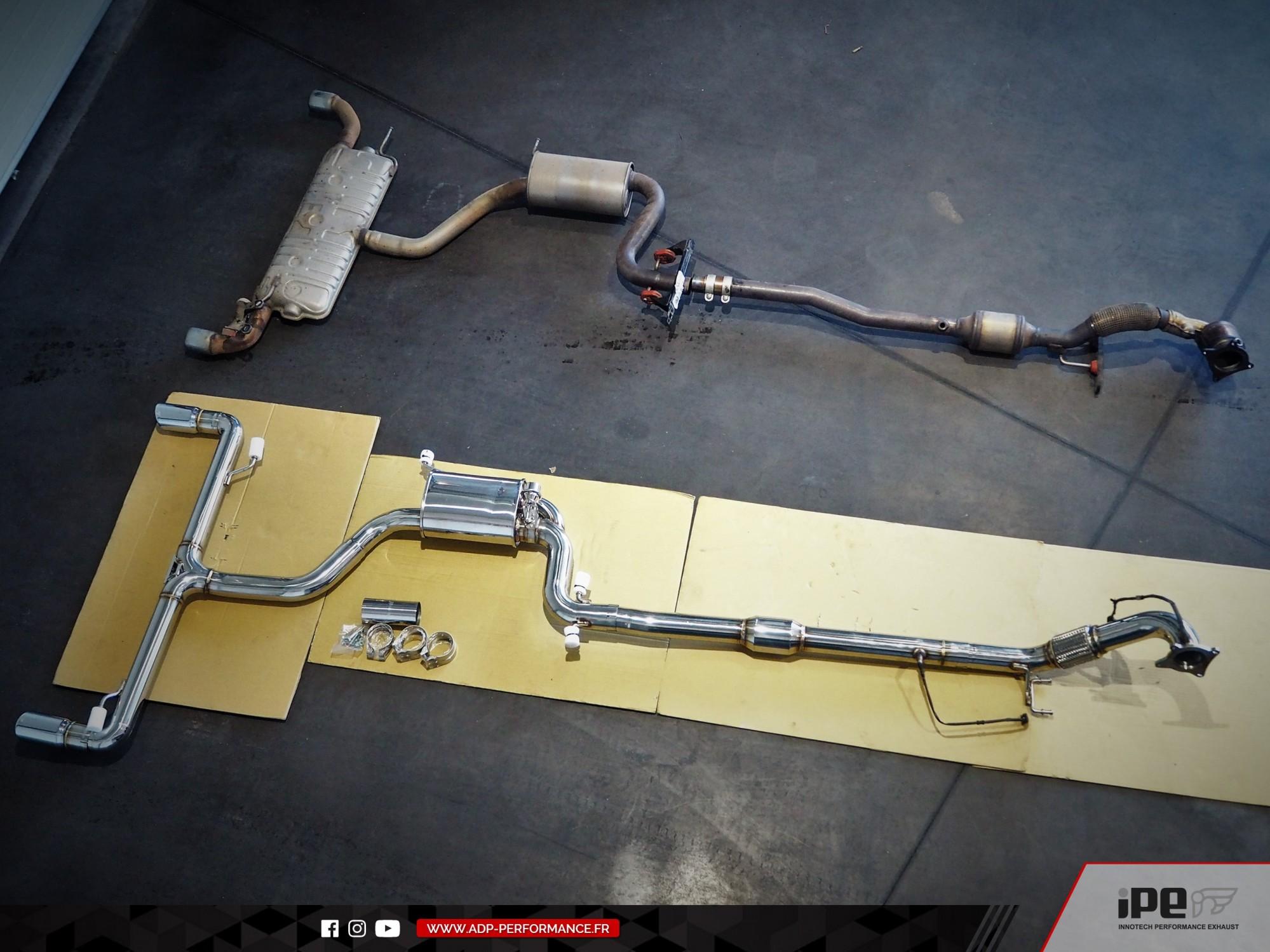 Ligne d'échappement complète iPE Innotech Marseille - VW Golf 6 GTI Edition 35 235cv - ADP Performance