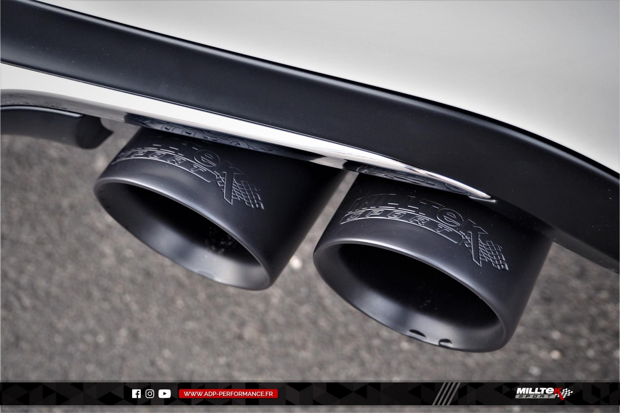 Ligne d'échappement (cat-back) Milltek Nimes - Peugeot 208 GTI 1.6 THP 208cv - ADP Performance