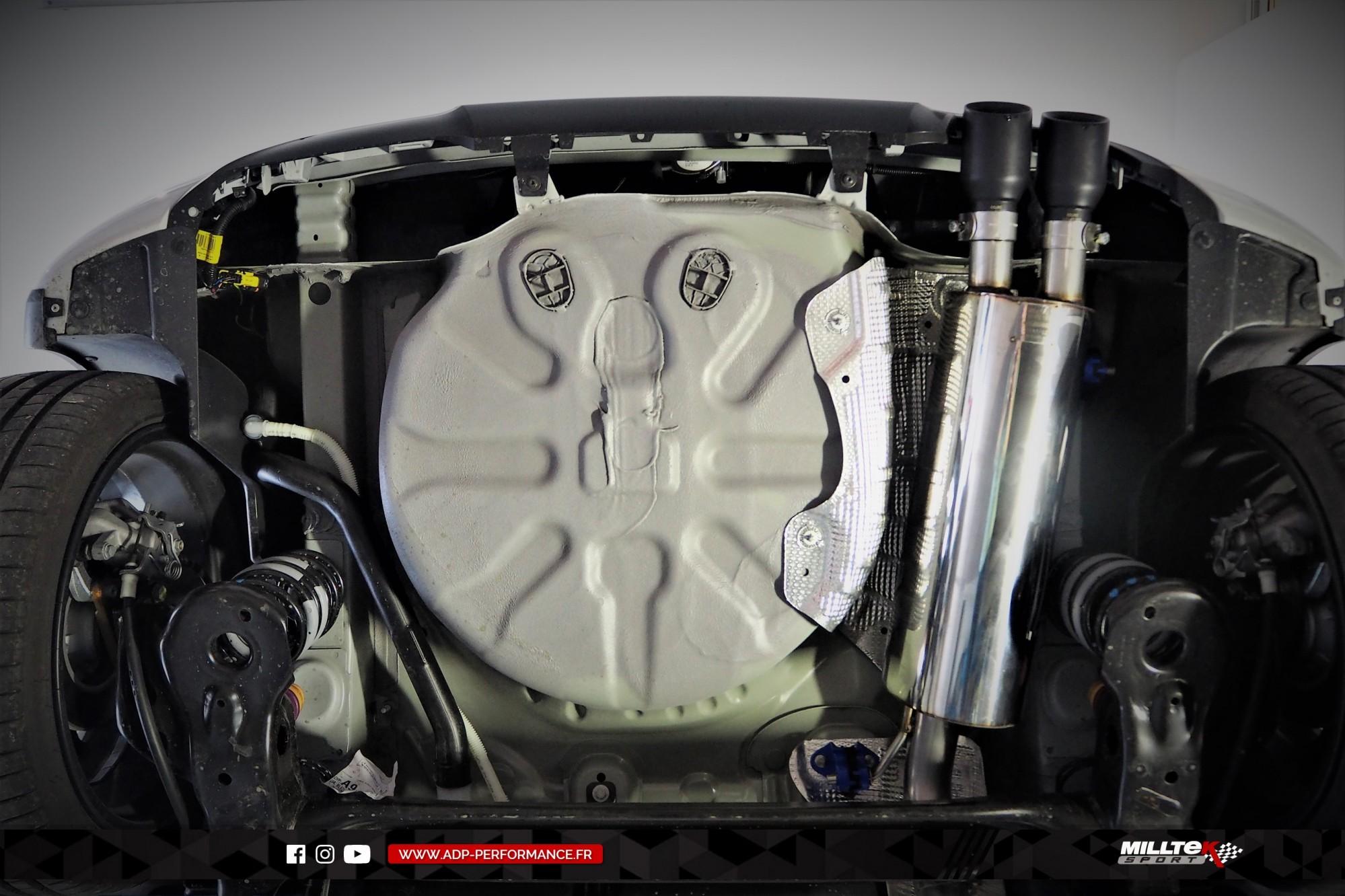 Ligne d'échappement (cat-back) Milltek Marseille - Peugeot 208 GTI 1.6 THP 208cv - ADP Performance