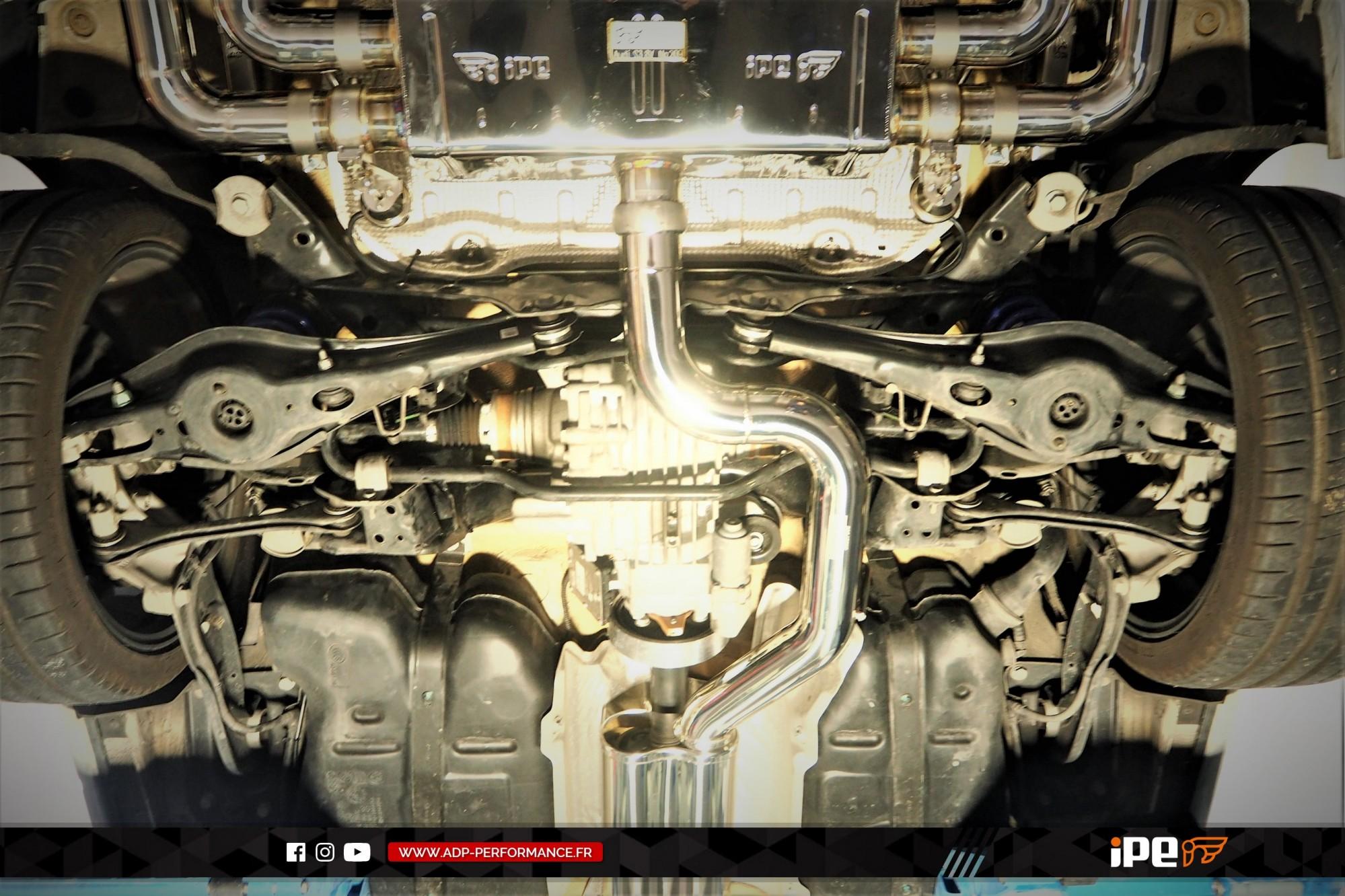 Ligne d'échappement (cat-back) iPE Innotech Vitrolles - Audi S3 8V - ADP Performance