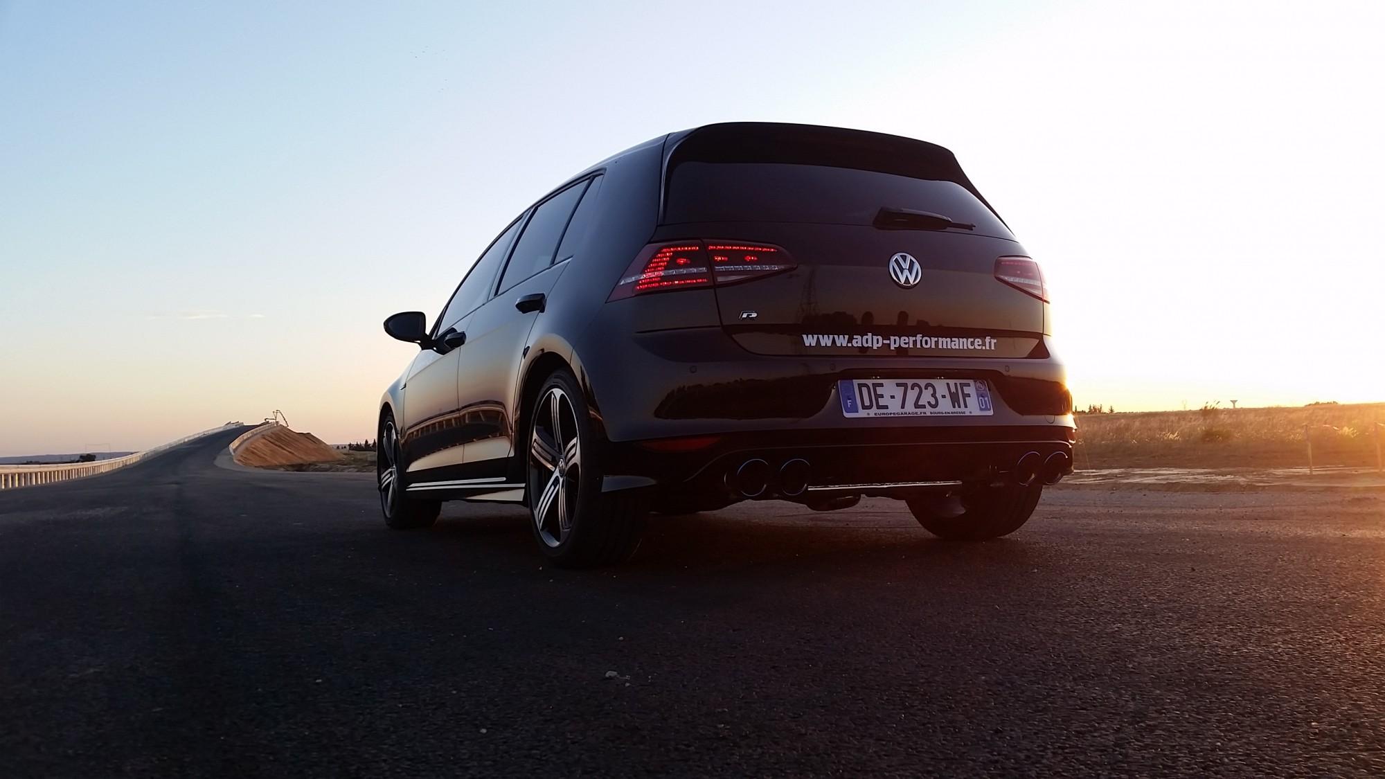 Vitres teintées Volkswagen Golf 7 R