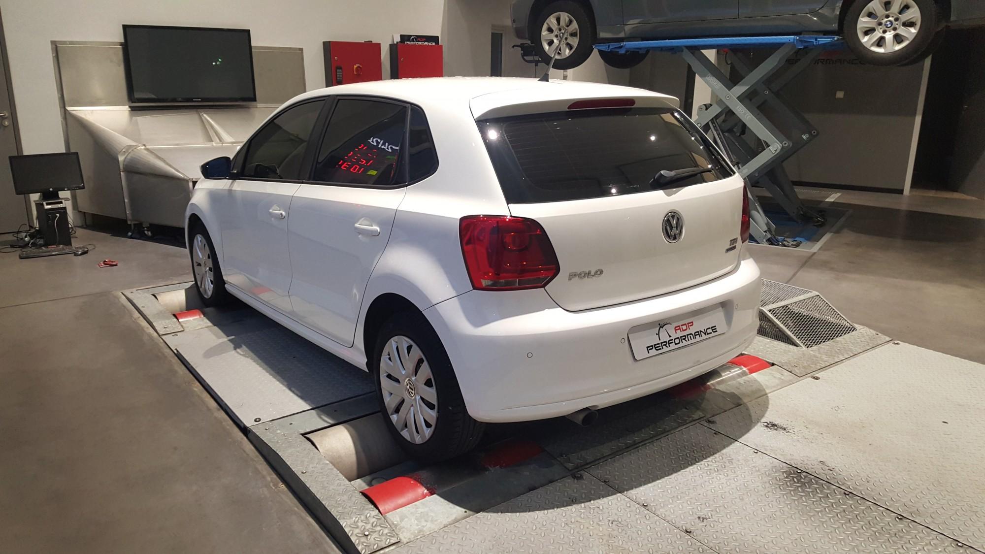 Pose films solaire Volkswagen polo à salon de provence