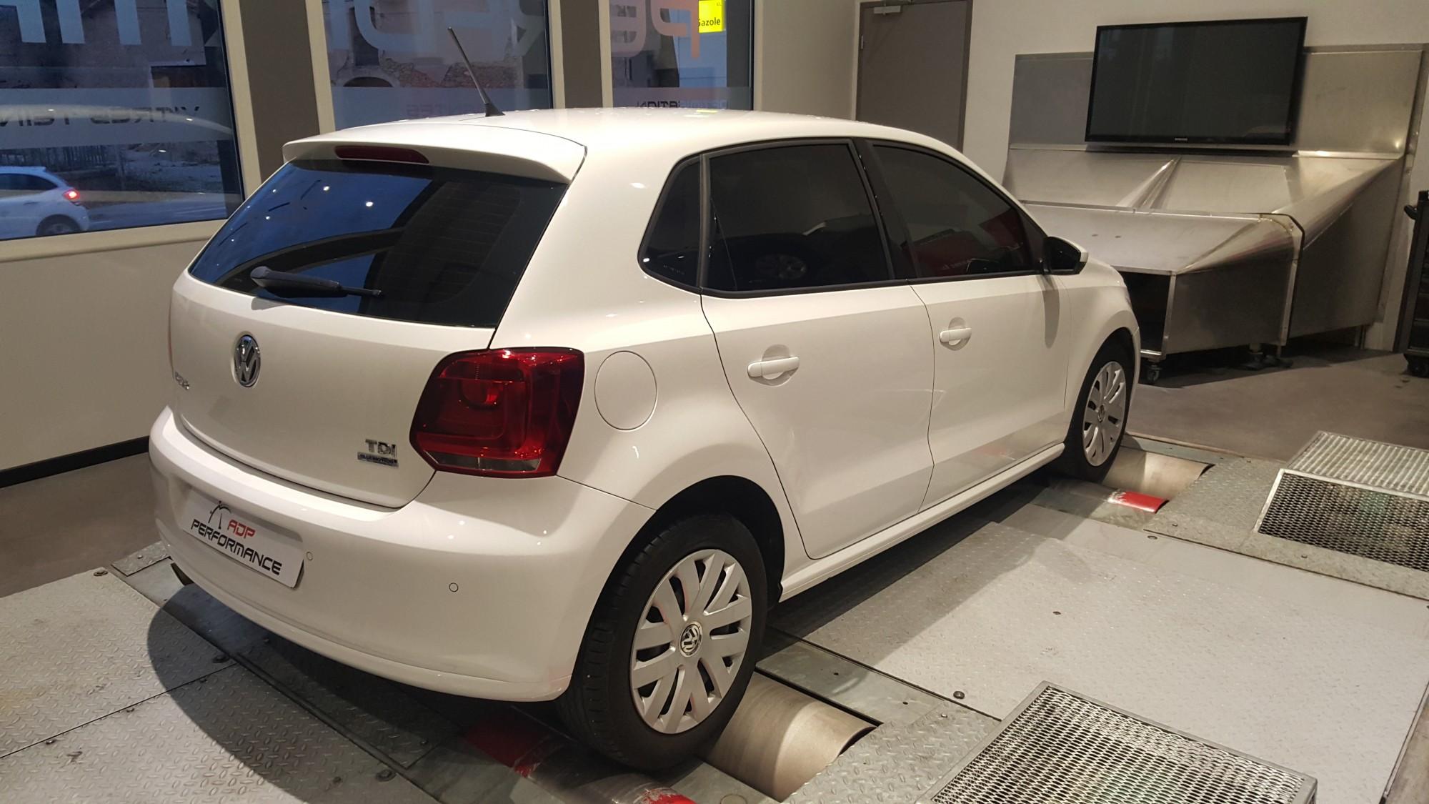 Pose vitres teintées Volkswagen polo à marseille