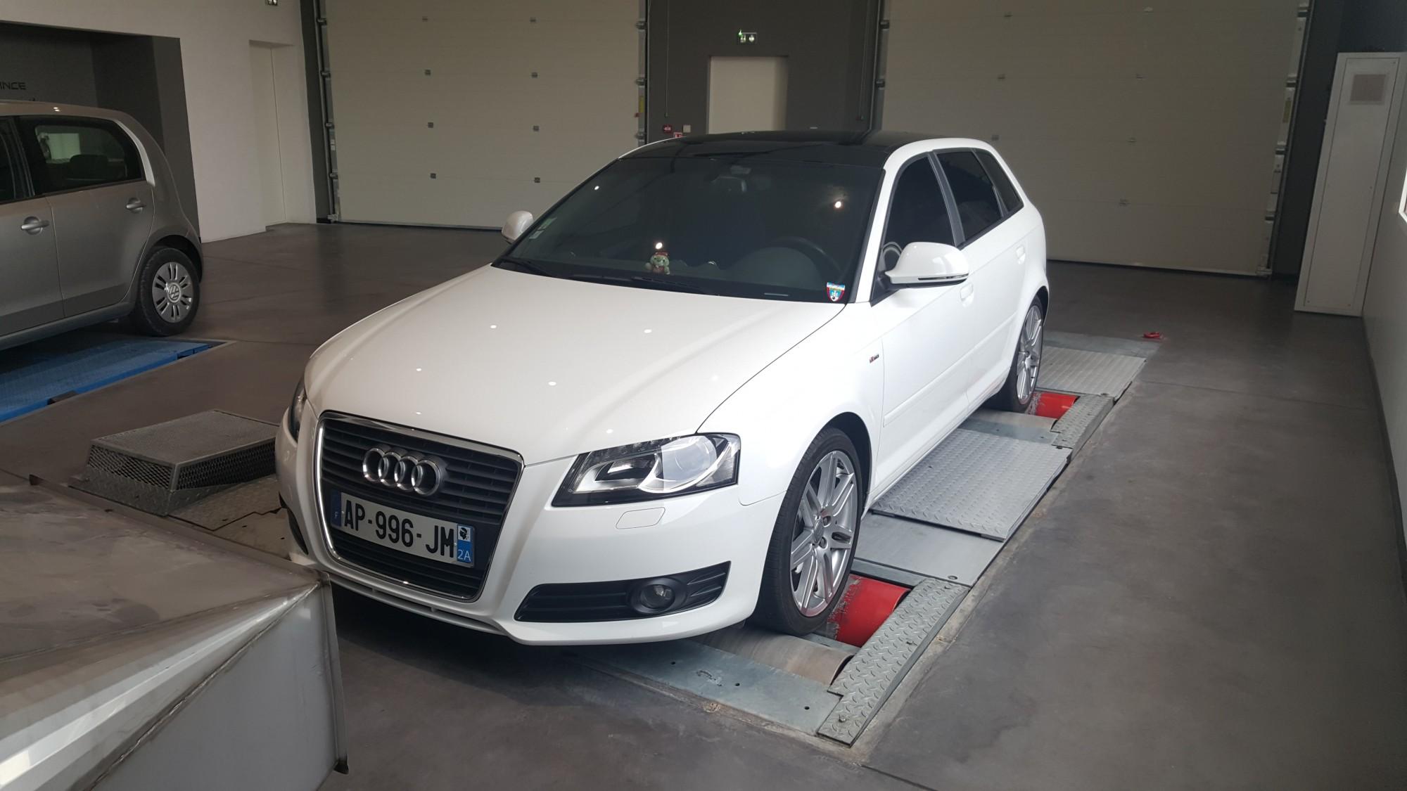 Vitres teintées Audi A3
