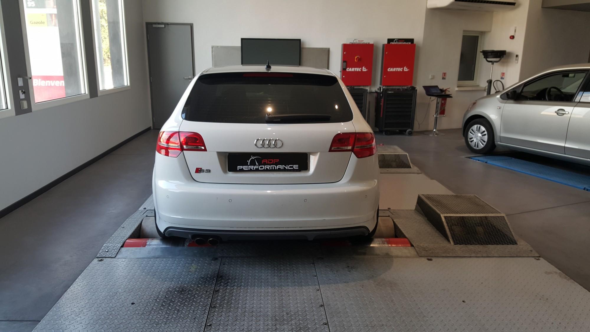 Vitres teintées Audi S3