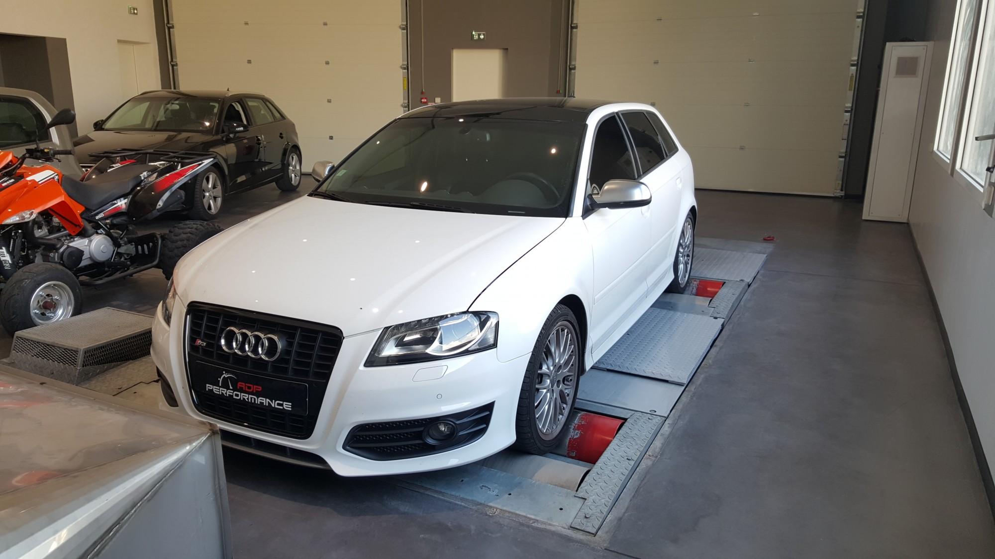 Vitres teintées Audi S3 à salon de provence