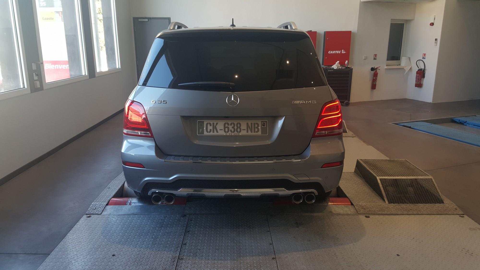 Vitres teintées Mercedes GLK