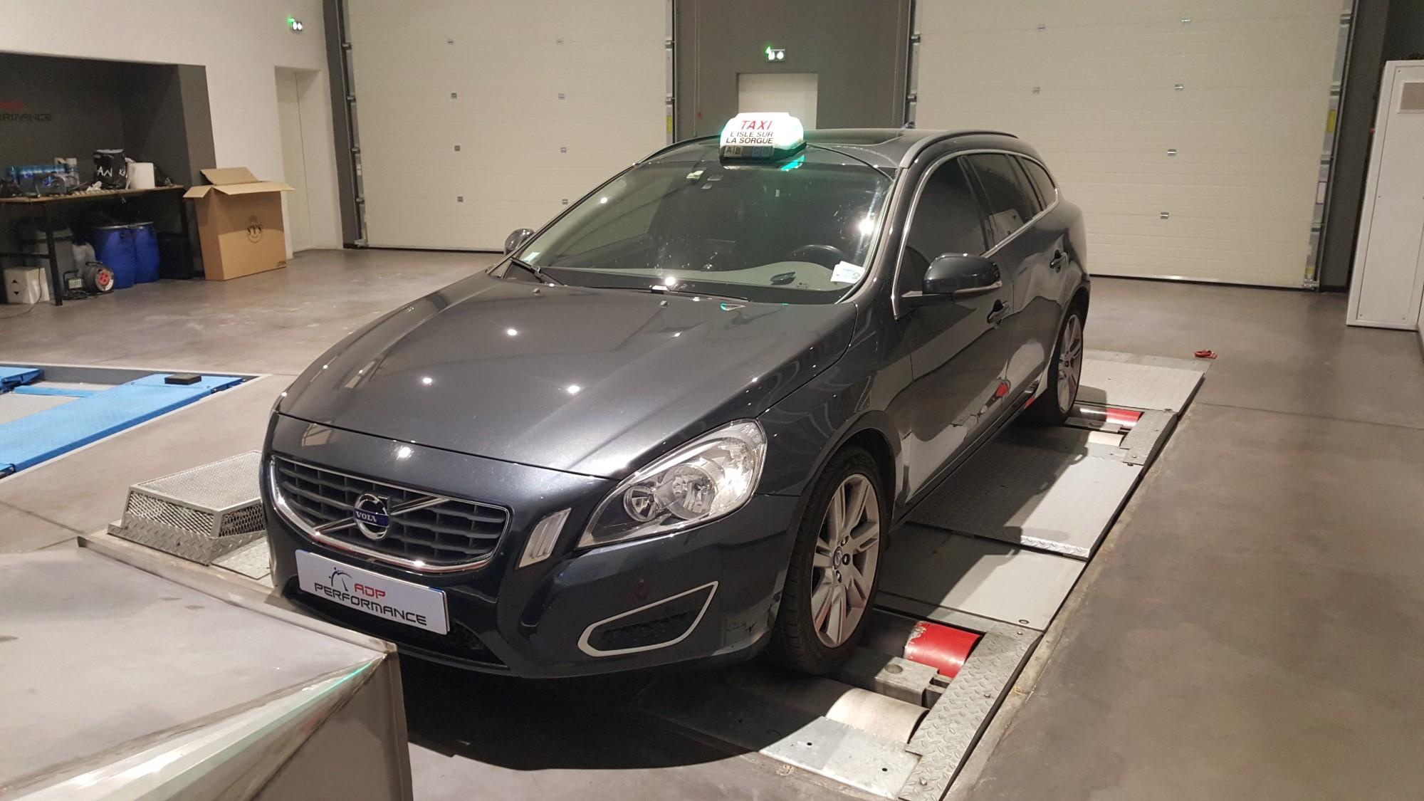 Pose films solaire Volvo D3 à aix en provence