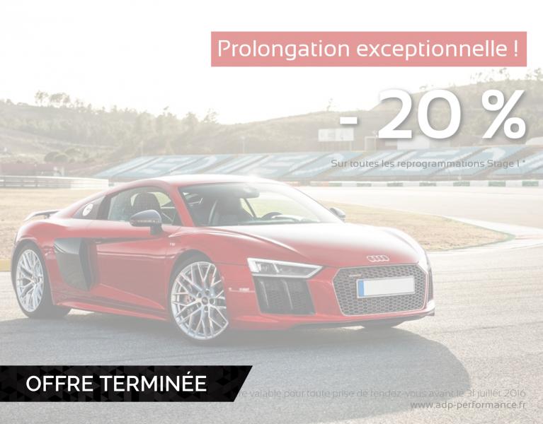 Promotion reprogrammation moteur ADP Performance