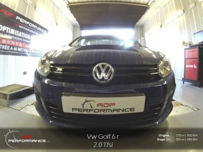 Reprogrammation moteur Golf 6 R