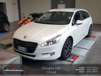 reprogrammation moteur peugeot 508 2 0 hdi 140 cv realisations reprogrammation auto sur. Black Bedroom Furniture Sets. Home Design Ideas