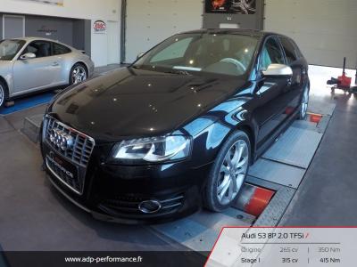 Reprogrammation moteur Montpellier - Audi S3 8P ADP Performance