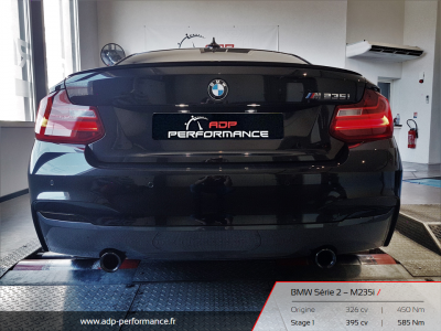 Reprogrammation moteur Marseille - BMW M235i ADP Performance