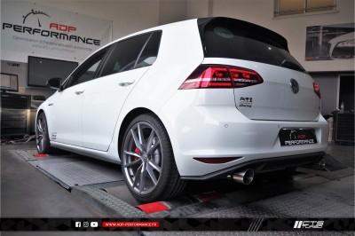 Ligne complète   catalyseur sport CTS Turbo Salon de Provence - VW Golf 7 GTI - ADP Performance