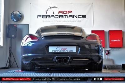 Reprogrammation moteur Aix en Provence - Porsche Cayman S 3.4i 295cv - ADP Performance