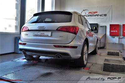 Reprogrammation moteur Miramas - Audi Q5 3.0 V6 TDI 240cv - ADP Performance