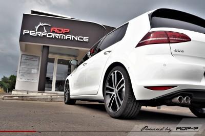 Ressorts courts Eibach VW Golf 7 GTD Salon de Provence - ADP Performance