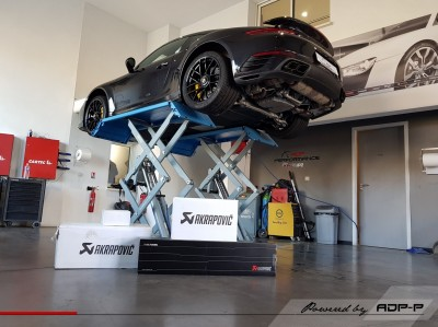 Akrapovic Porsche 991.2 Turbo S