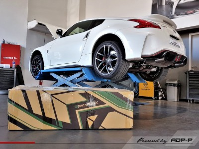 Armytrix exhaust 370Z Nismo