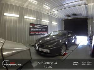 Alfa gt 150 cv stage 1 Adp performance