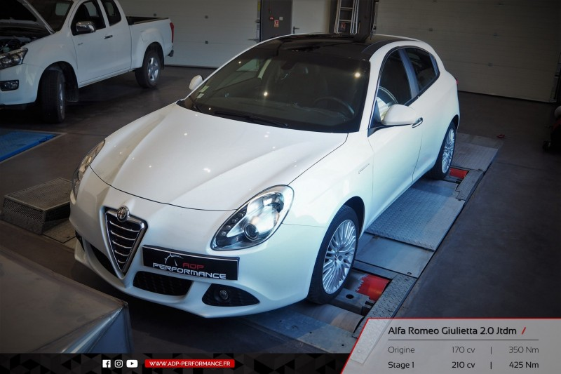 alfa romeo giulietta 2010 02 2016 diesel 2 0 jtdm 170 cv reprogrammation de votre vehicule. Black Bedroom Furniture Sets. Home Design Ideas