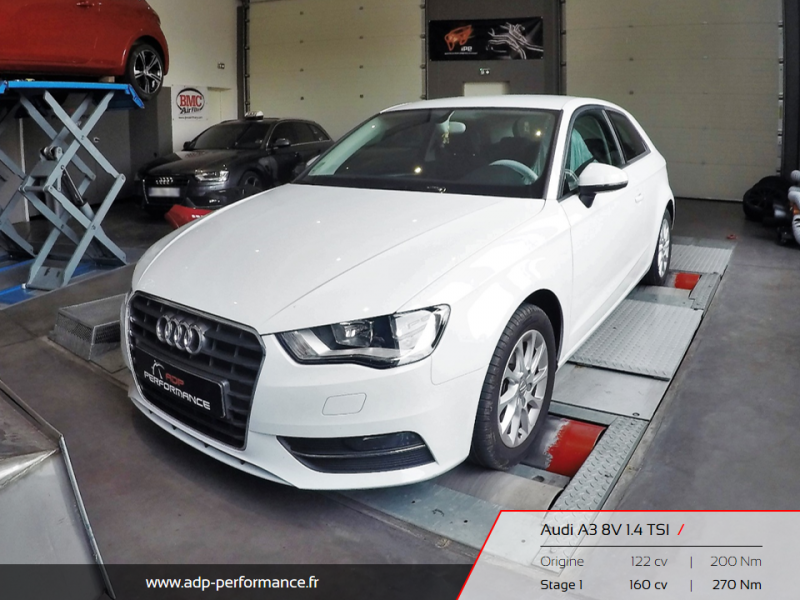 Reprogrammation moteur Miramas, Istres, Martigues - Audi A3 8V ADP Performance