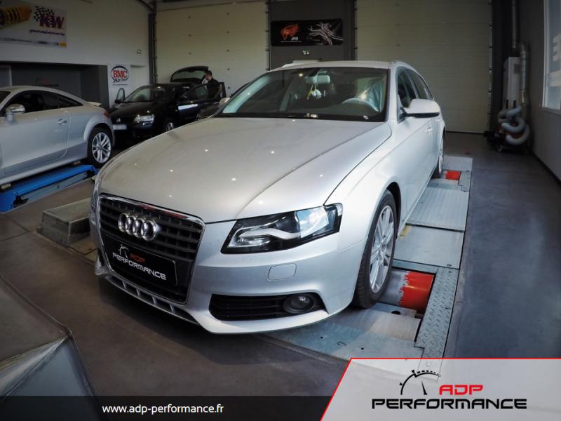 Reprogrammation moteur var Audi A4 B8 ADP Performance