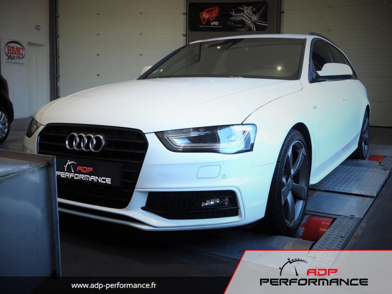 Reprogrammation moteur - Audi A4 B8 Mk2 2.0 TDI 177cv - ADP Performance