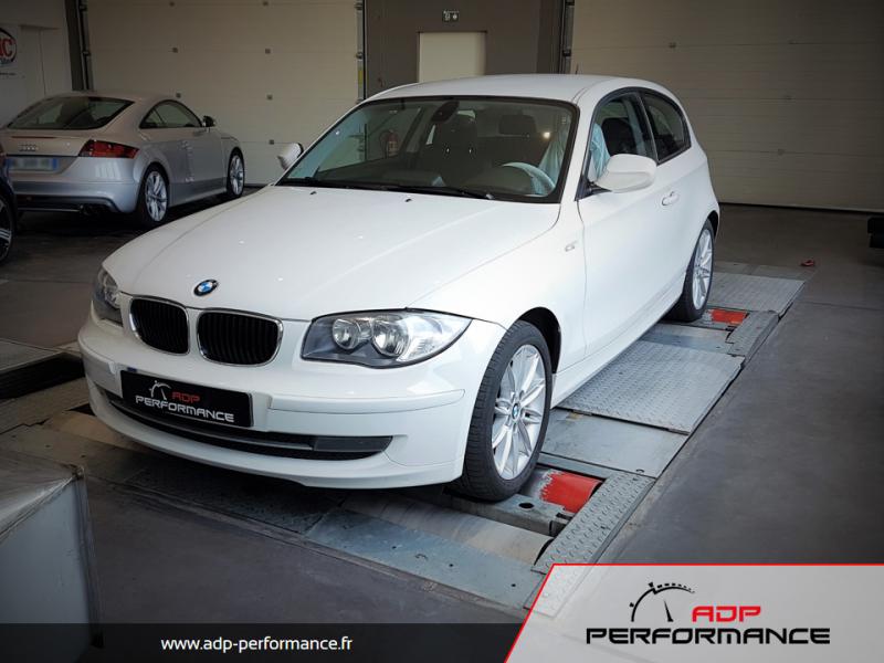 Reprogrammation moteur - BMW Série 1 - E8x 120d 163cv - ADP Performance