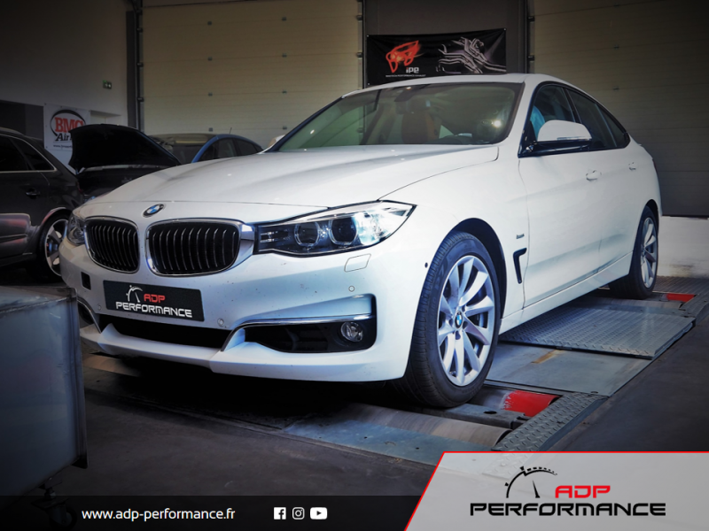 Reprogrammation moteur - BMW Serie 3 GT F34 330d 258cv - ADP Performance