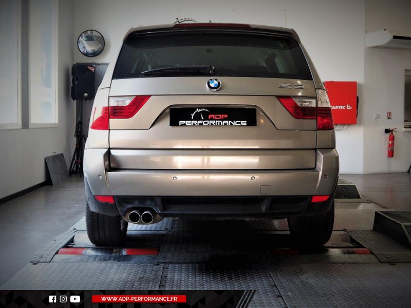 Reprogrammation moteur - BMW X3 2.0d 177cv - ADP Performance