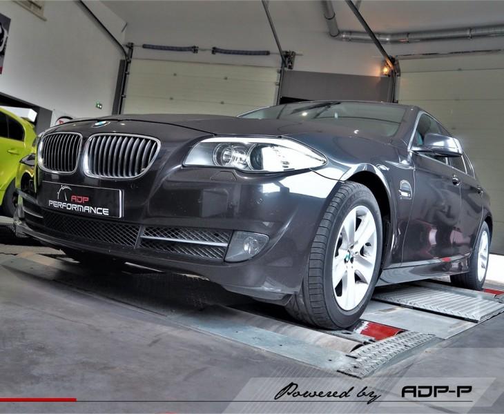 Reprogrammation moteur - BMW Serie 5 F1x 525d 218cv - ADP Performance