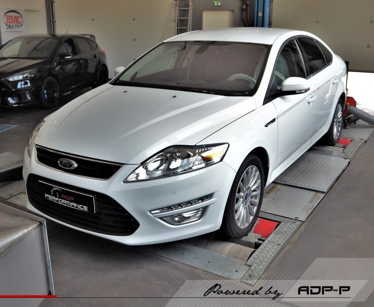 Reprogrammation moteur - Ford Mondeo 2.0T Ecoboost 203cv - ADP Performance