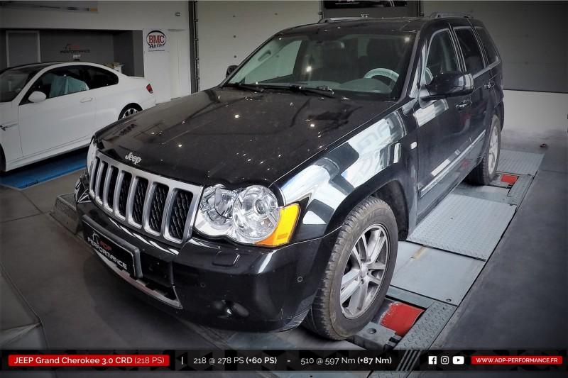 jeep grand cherokee 2005 2011 diesel 3 0 crd 218 cv reprogrammation de votre vehicule. Black Bedroom Furniture Sets. Home Design Ideas